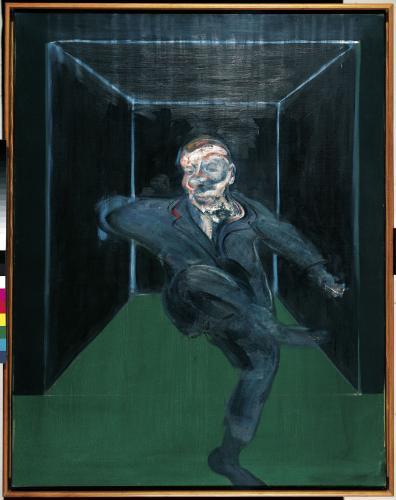 Francis Bacon / Sedící postava