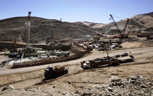 Důl v Copiapó