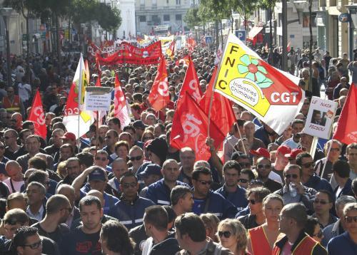 Demonstrace ve Francii