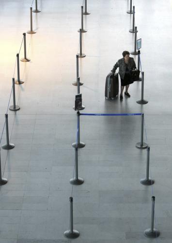 Stávka ochromila francouzská letiště