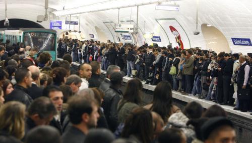 Ochromené pařížské metro
