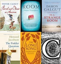 Finalisté Man Bookerovy ceny 2010