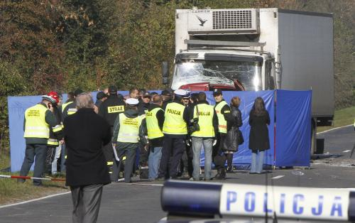 Policisté u tragické nehody