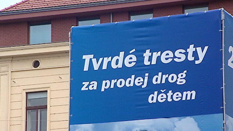 Předvolební plakát ODS