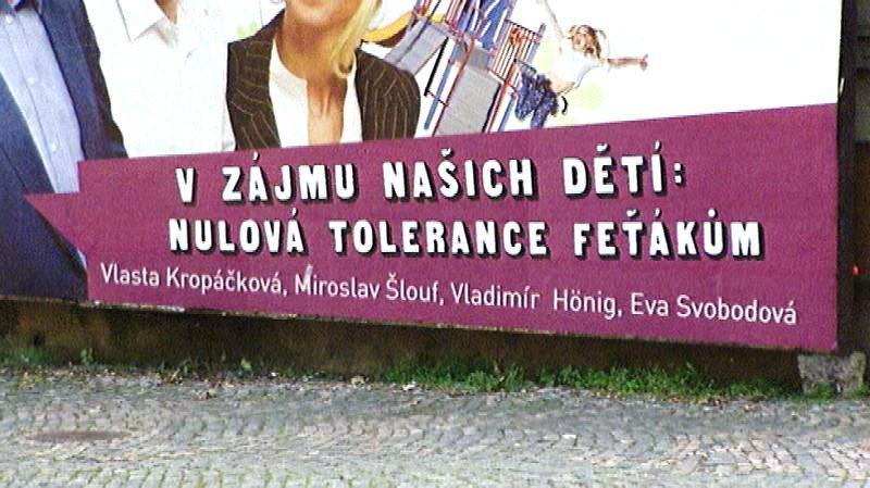 Předvolební plakát SPOZ