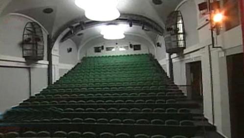 Divadlo Spejbla a Hurvínka / hlediště