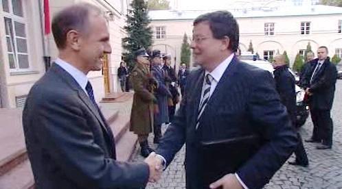 Bogdan Klich a Alexandr Vondra