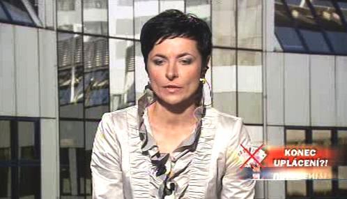 Lenka Bradáčová v OVM