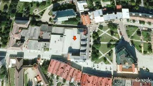 Místo výbuchu v Krnově
