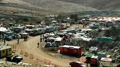 Tábor naděje v poušti Atacama