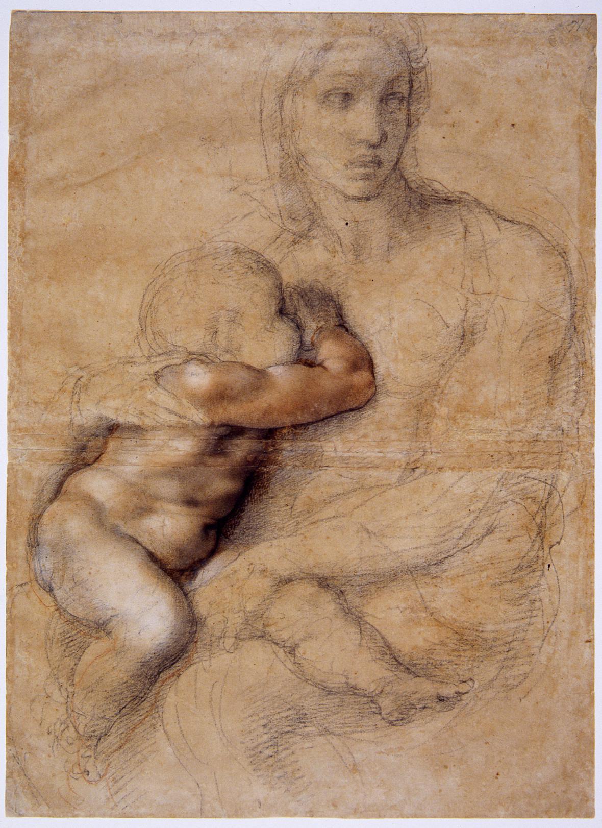 Kresba Michelangela Buonarrotiho