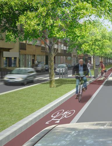 Plánovaná cyklostezka