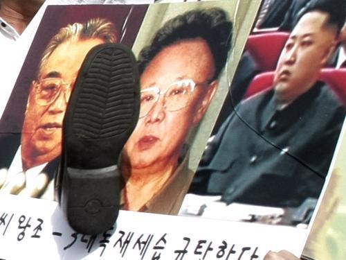Protest v Soulu