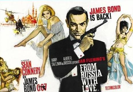 James Bond - Srdečné pozdravy z Ruska