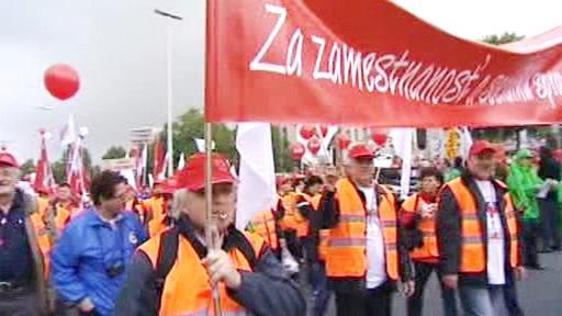 Slovenští odboráři