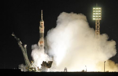 Start kosmické lodi Sojuz