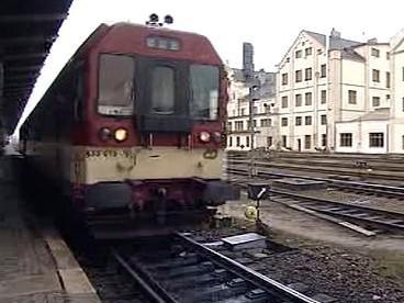 Vlak v Liberci