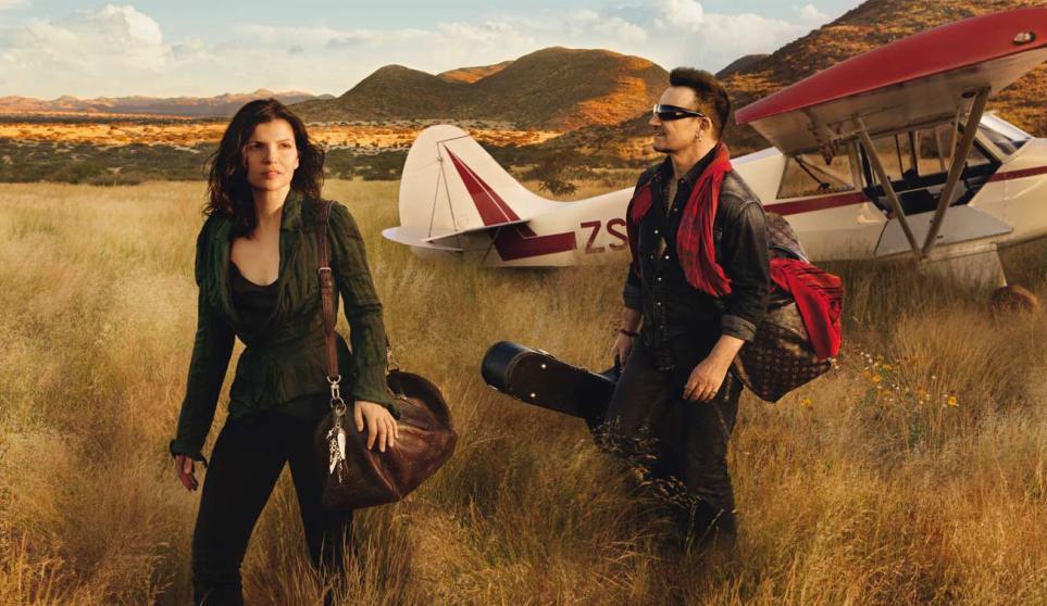 Bono Vox s manželkou v kampani pro Louis Vuitton