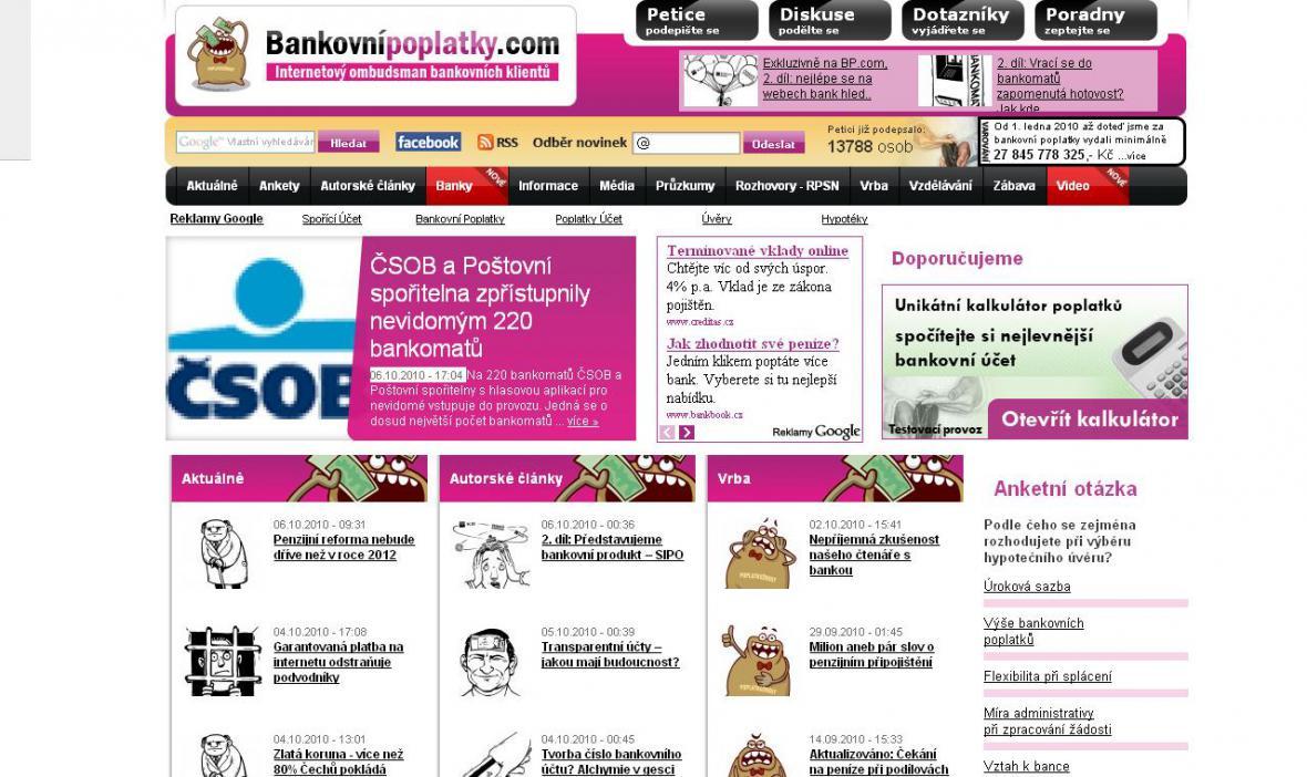 Bankovnípoplatky.com