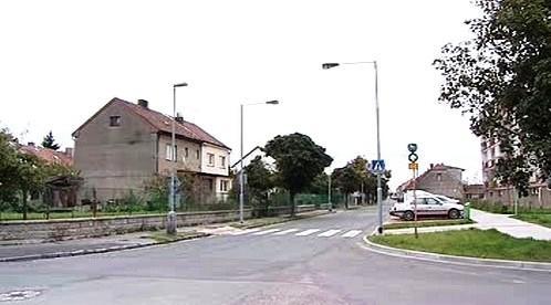 Ulice s osvětlením