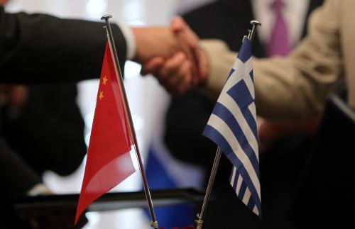 Čínsko-řecké spojenectví