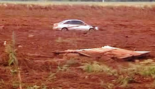 Kal z nádrže zaplavil dvě maďarské obce