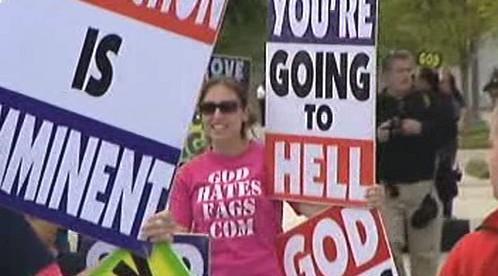 Demonstrace baptistů