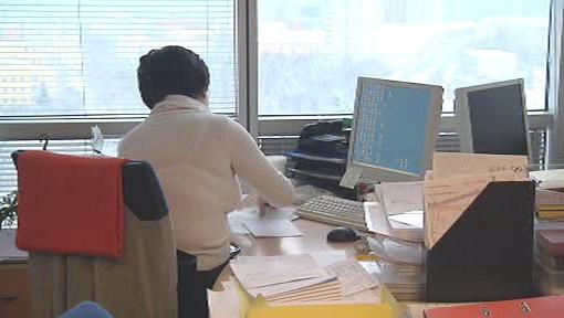 Práce v kanceláři