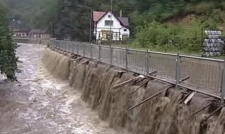 Povodně v Hřensku