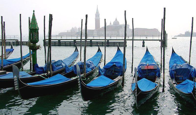Benátské gondoly
