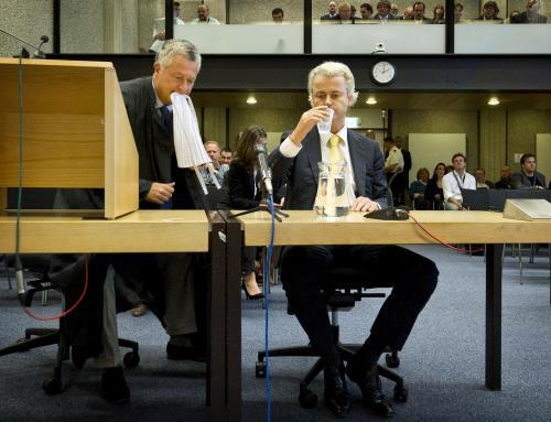 Geert Wilders a Bram Moszkowicz