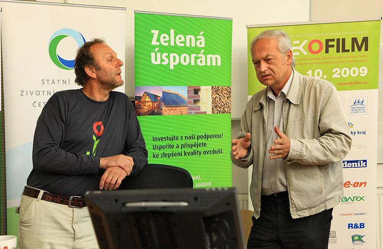 Jaroslav Dušek a Pavel Kovář