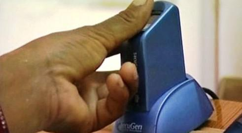 Biometrický skener