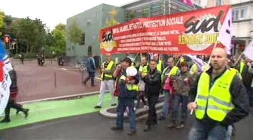 Francouzi protestují