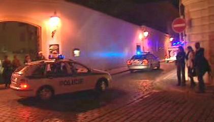 Zásah policejní jednotky