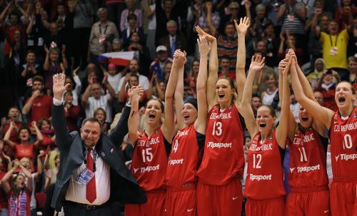 Lubor Blažek a české basketbalistky