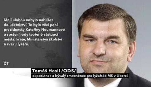 Prohlášení exposlance Hasila