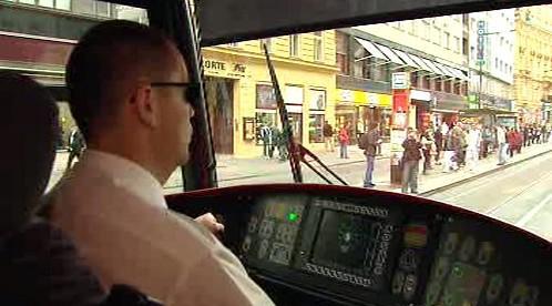 Jízda tramvají