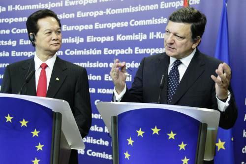 Nguyen Tan Dung a José Manuel Barroso