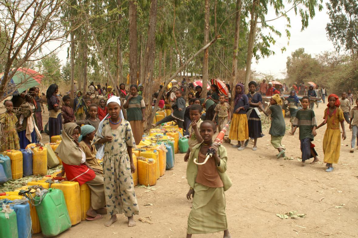 Děti v Etiopii
