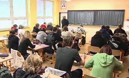 Studenti při vyučování