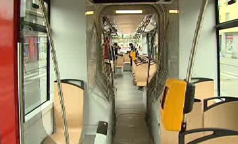 Interiér tramvaje T15