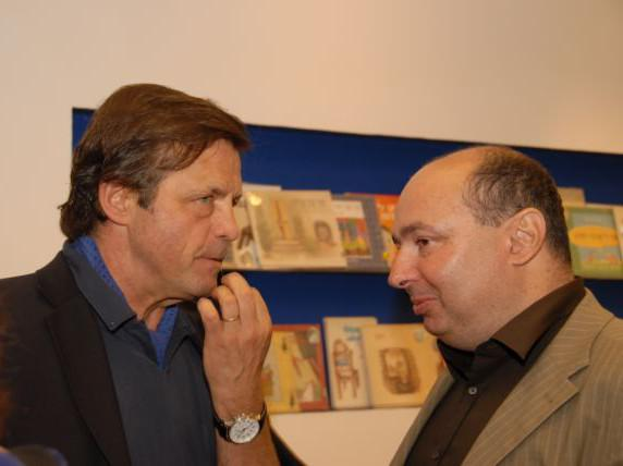 Petr Sís a David Stecher