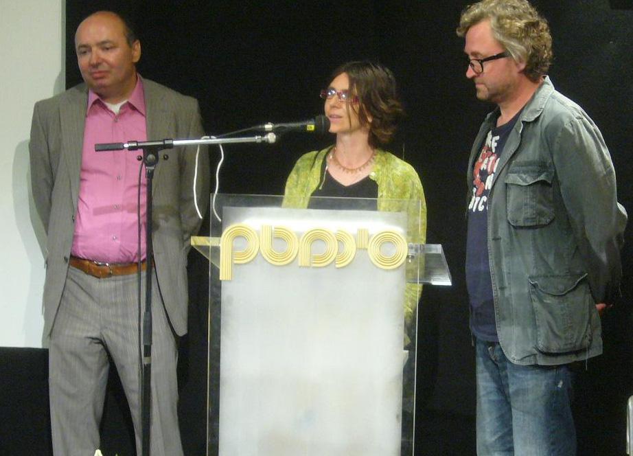 David Stecher a Jan Hřebejk / Mezinárodní filmový festival v Jeruzalémě