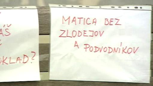 Protest proti Matici slovenské