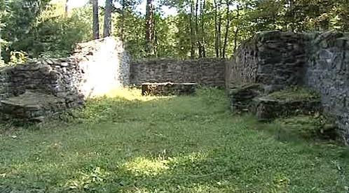 Pozůstatky kostela svatého Linharta