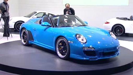 Porsche, verze 911 Speedster