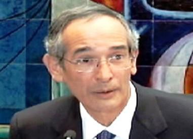 Guatelmalský prezident