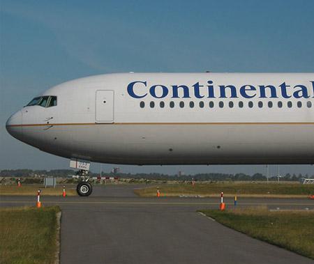 Letadlo Continental Airlines