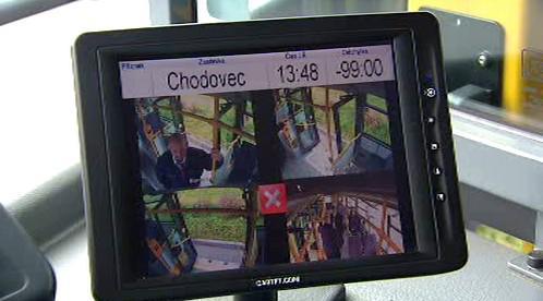 Kamery v autobusu